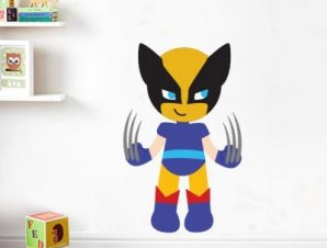 Logun Boy Παιδικά Αυτοκόλλητα τοίχου 50 x 31 cm