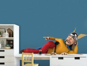 Ο Αστερίξ Παιδικά Αυτοκόλλητα τοίχου 28 x 65 cm