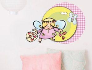 Νεραϊδούλα Παιδικά Αυτοκόλλητα τοίχου 34 x 50 cm