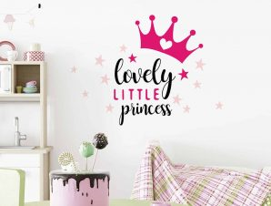 Διακοσμητικά αυτοκόλλητα τοίχου Lovely Princess M
