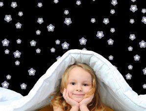 Διακοσμητικά αυτοκόλλητα τοίχου Glow Star S φωσφορίζοντα