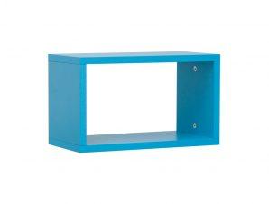 """Ράφι """"NUMERO"""" κρεμαστό σε χρώμα μπλε 40x20x23,5"""