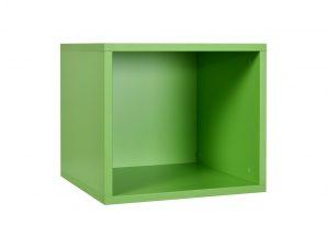"""Ράφι κασέτα """"NUMERO"""" σε χρώμα πράσινο 36,5x40x35"""
