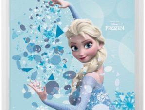 Elsa with snow,! Παιδικά Πίνακες σε καμβά 50 x 50 cm