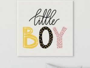 Μικρό αγόρι Παιδικά Πίνακες σε καμβά 50 x 50 cm