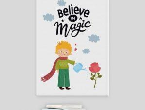 Πίστεψε στη μαγεία Παιδικά Πίνακες σε καμβά 57 x 40 cm