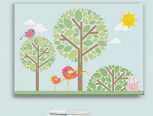 Πάρκο Παιδικά Πίνακες σε καμβά 43 x 60 cm