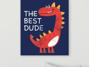 Το καλύτερο τυπάκι Παιδικά Πίνακες σε καμβά 64 x 55 cm