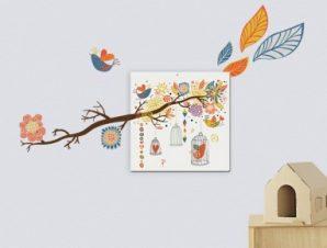 Φύση Παιδικά Πίνακες και αυτοκόλλητα 143×84