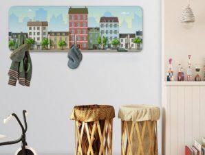 City life Παιδικά Κρεμάστρες & Καλόγεροι 45 cm x 1.38cm