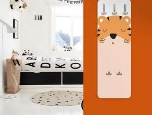 Τίγρης Παιδικά Κρεμάστρες & Καλόγεροι 45 cm x 1.38cm