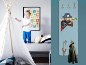 Πειρατής Παιδικά Κρεμάστρες & Καλόγεροι 45 cm x 1.38cm