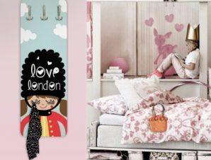 Love London Παιδικά Κρεμάστρες & Καλόγεροι 45 cm x 1.38cm