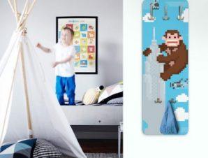 King Kong Παιδικά Κρεμάστρες & Καλόγεροι 45 cm x 1.38cm