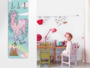 Μονόκερος Παιδικά Κρεμάστρες & Καλόγεροι 45 cm x 1.38cm