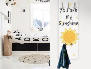 You are my sunshine Παιδικά Κρεμάστρες & Καλόγεροι 45 cm x 1.38cm