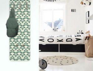 Ρετρό μοτίβο Παιδικά Κρεμάστρες & Καλόγεροι 45 cm x 1.38cm