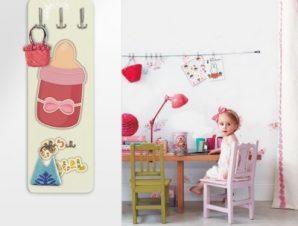 Μπιμπερό για κοριτσάκι Παιδικά Κρεμάστρες & Καλόγεροι 45 cm x 1.38cm