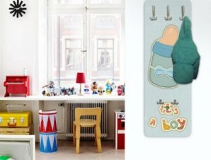 Μπιμπερό Παιδικά Κρεμάστρες & Καλόγεροι 45 cm x 1.38cm