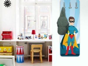 Σούπερ ήρωας Παιδικά Κρεμάστρες & Καλόγεροι 45 cm x 1.38cm