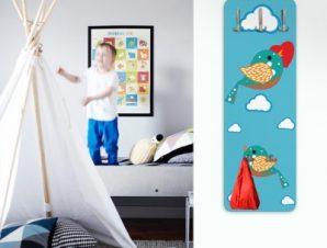 Πουλί της αγάπης Παιδικά Κρεμάστρες & Καλόγεροι 45 cm x 1.38cm