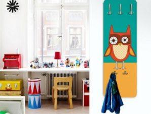 Αστεία Κουκουβάγια Παιδικά Κρεμάστρες & Καλόγεροι 45 cm x 1.38cm