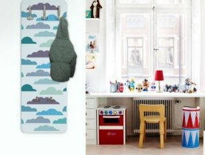 Συννεφάκια Παιδικά Κρεμάστρες & Καλόγεροι 45 cm x 1.38cm