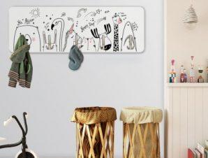 Animals Παιδικά Κρεμάστρες & Καλόγεροι 45 cm x 1.38cm