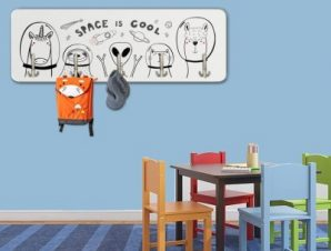 Space Animals Παιδικά Κρεμάστρες & Καλόγεροι 45 cm x 1.38cm