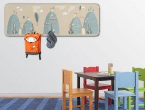 Mountain Παιδικά Κρεμάστρες & Καλόγεροι 45 cm x 1.38cm