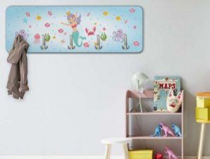 Μικρή Γοργόνα Παιδικά Κρεμάστρες & Καλόγεροι 45 cm x 1.38cm