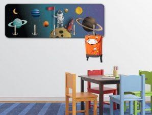 Spaceman Παιδικά Κρεμάστρες & Καλόγεροι 45 cm x 1.38cm