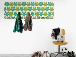 Πράσινες Κουκουβάγιες Παιδικά Κρεμάστρες & Καλόγεροι 45 cm x 1.38cm
