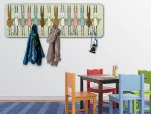 Κουνελάκια Παιδικά Κρεμάστρες & Καλόγεροι 45 cm x 1.38cm