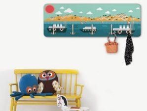 Καραβάκια Παιδικά Κρεμάστρες & Καλόγεροι 45 cm x 1.38cm