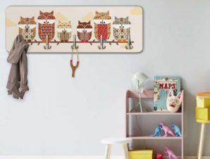 Κουκουβάγιες Παιδικά Κρεμάστρες & Καλόγεροι 45 cm x 1.38cm