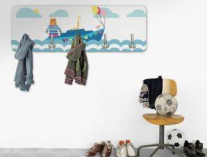 Ζωάκια στην Θάλασσα Παιδικά Κρεμάστρες & Καλόγεροι 45 cm x 1.38cm