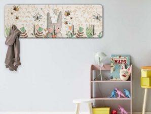 Χαριτωμένο κουνελάκι Παιδικά Κρεμάστρες & Καλόγεροι 45 cm x 1.38cm