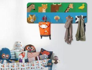 Εικονίδια με Ζωάκια Παιδικά Κρεμάστρες & Καλόγεροι 45 cm x 1.38cm