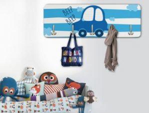 Αυτοκινητάκι Παιδικά Κρεμάστρες & Καλόγεροι 45 cm x 1.38cm
