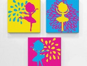 Νεράιδες Παιδικά Mini Set καμβάς 25 x 25 cm