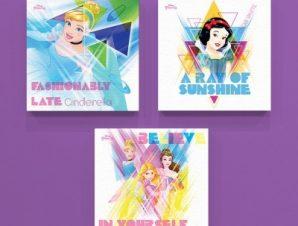 Πριγκίπισσες της Disney! Παιδικά Mini Set καμβάς 25 x 25 cm