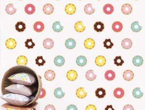 Donuts Παιδικά Mini Pack αυτοκόλλητα 61x31cm