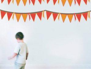 Σημαίες πάρτυ Παιδικά Mini Pack αυτοκόλλητα 100×100 cm