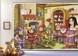 Παραμύθι Παιδικά Αυτοκόλλητα ντουλάπας 61 x 185 cm