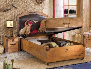 Παιδικό κρεβάτι με αποθηκευτικό χώρο KS-1706 – KS-1706