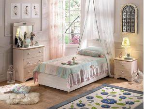 Παιδικό Κρεβάτι με αποθηκευτικό χώρο SLF-1705