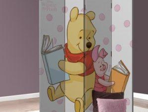 Winnie the Pooh & Pigglet! Παιδικά Παραβάν 80×180 cm [Δίφυλλο]