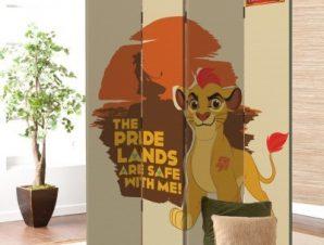The Pride Lands, Lion Guard Παιδικά Παραβάν 80×180 cm [Δίφυλλο]