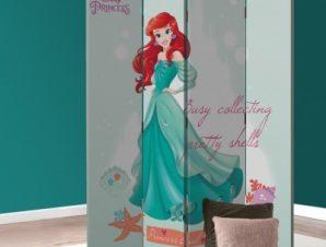 Ariel, Busy Collective Princess! Παιδικά Παραβάν 80×180 cm [Δίφυλλο]